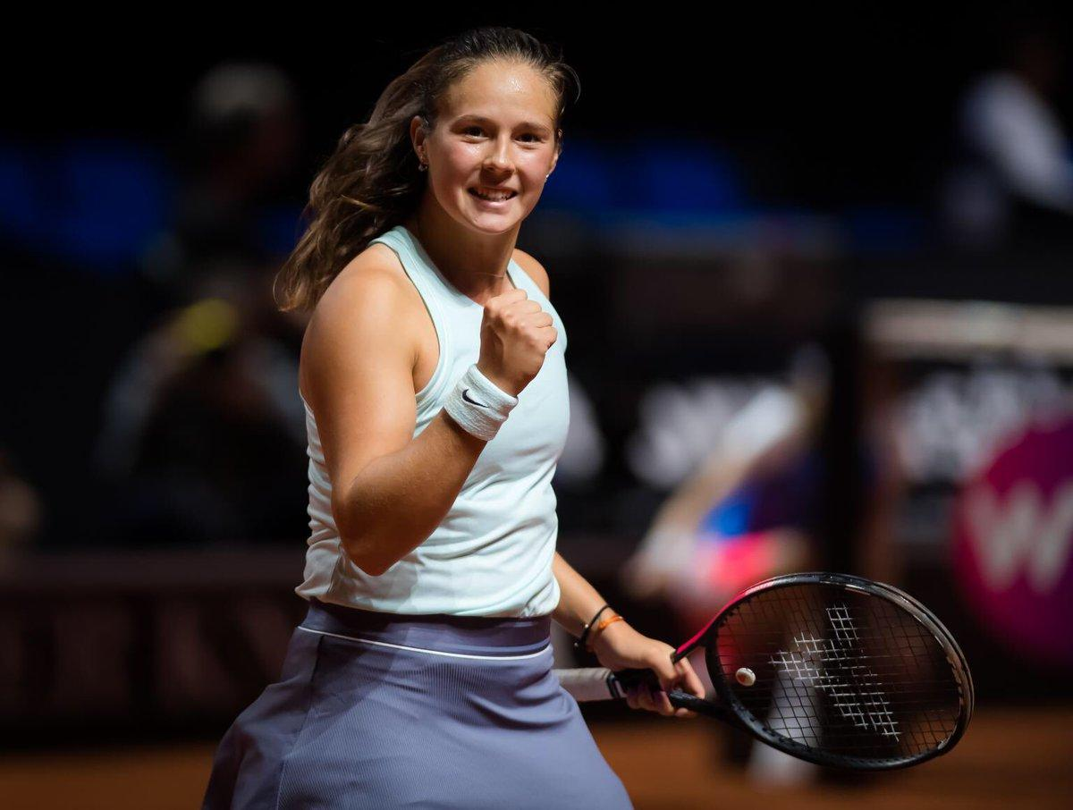 Daria Kasatkina won the WTA tournament in Melbourne