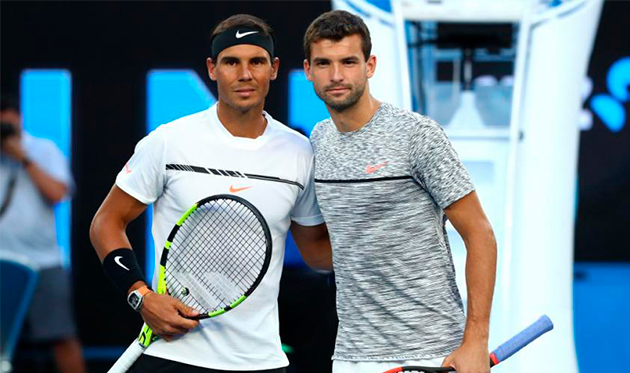 Nadal vs Dimitrov: will the Spaniard have problems on his way to the final?