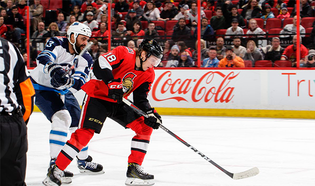 """Ottawa"" vs ""Winnipeg"": third win in a row for the Senators?"