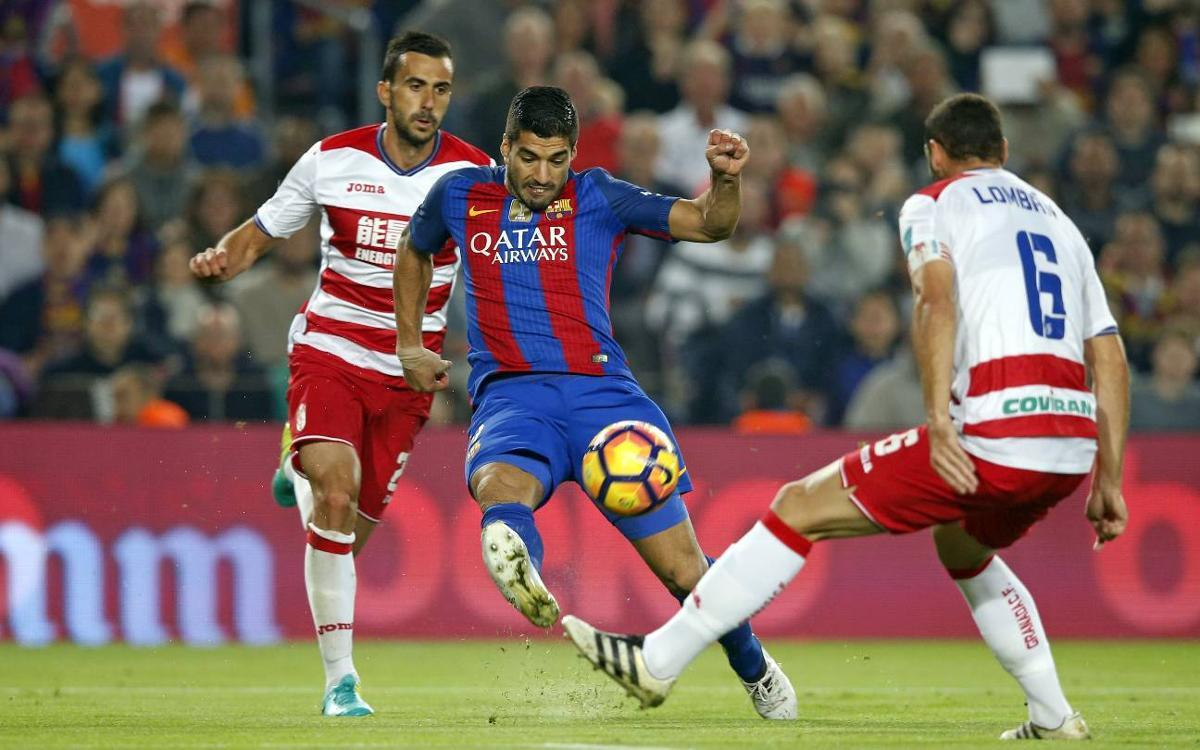Granada vs. Barcelona: with all the strength