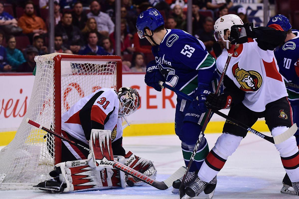 "Vancouver vs. Ottawa: What are the chances of winning for ""Canucks""?"