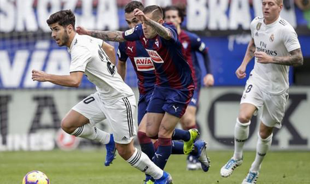 """Real Madrid"" vs ""Eibar"": Will ""Eibar"" stop Zidane's team?"