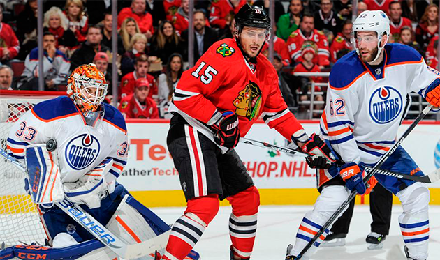 """Chicago"" vs ""Edmonton"": ""Blackhawks"" against ""Oilers"""