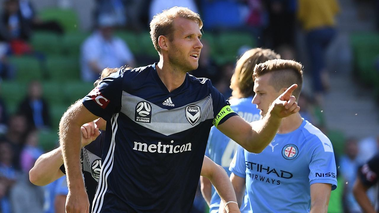 Melbourne Victory vs. Melbourne City football match on March 6