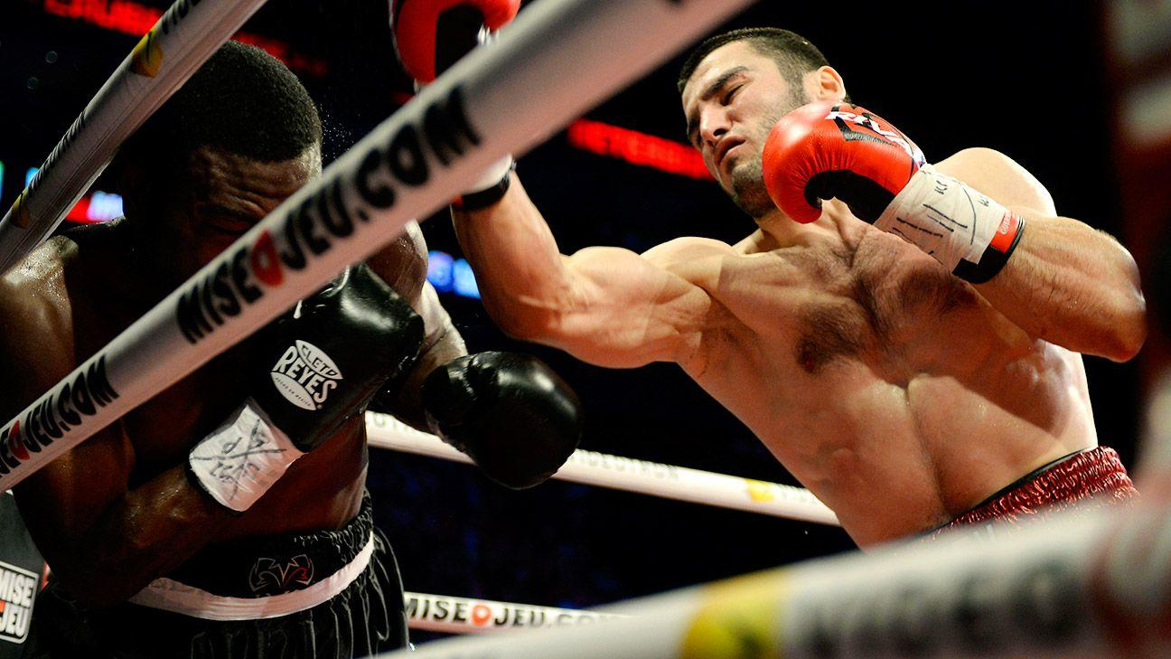 Artur Beterbiev vs. Adam Deines light heavyweight fight on March 20