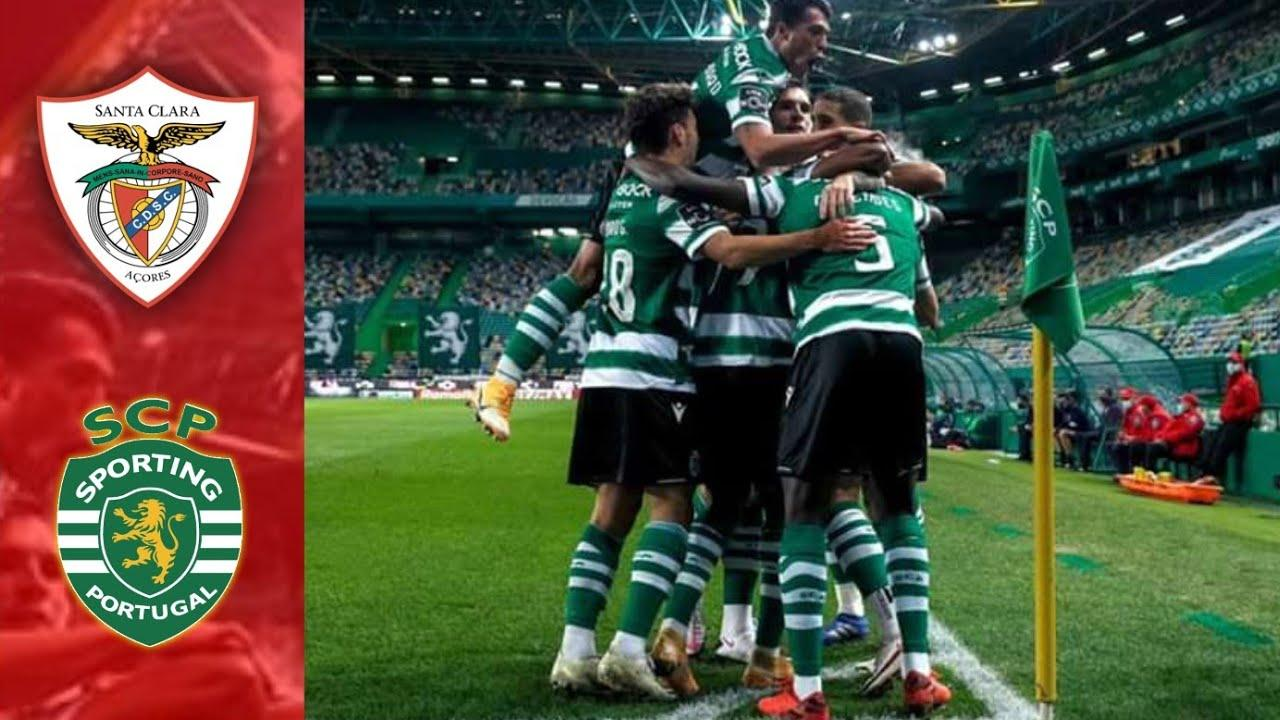 "Sporting CP vs. Santa Clara: the ""Lions"" are attacking"